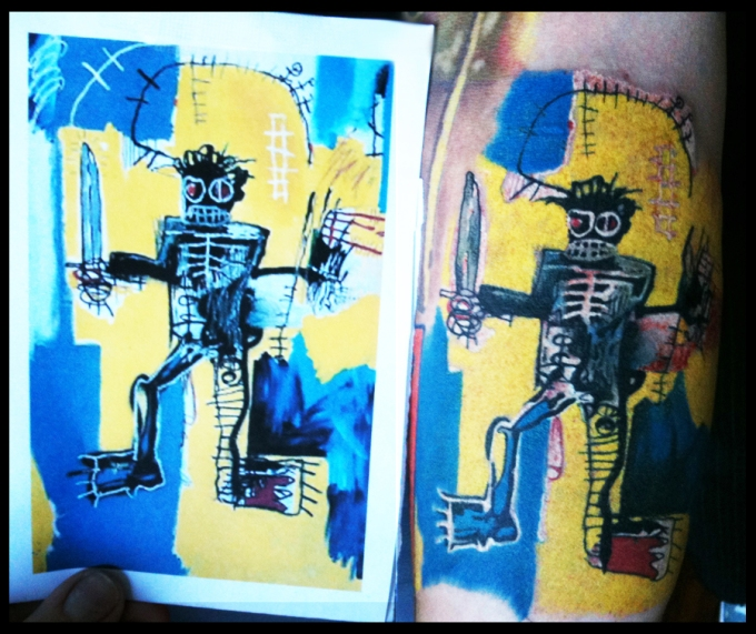 Basquiat side by side